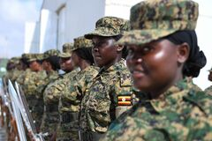 2012_12_12_AMISOM_Female_Peacekeepers' Conference-14 Royalty Free Stock Images