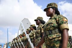2012_12_12_AMISOM_Female_Peacekeepers' Conference-15 Stock Images