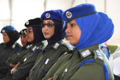 2012_12_12_AMISOM_Female_Peacekeepers' Conference-16 Stock Photography