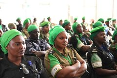 2012_12_12_AMISOM_Female_Peacekeepers' Conference-2 Royalty Free Stock Image