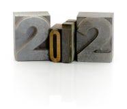An 2012 Images libres de droits
