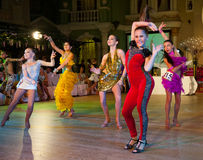 艺术性的舞蹈授予2012-2013 图库摄影