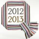 2012 - 2013, el tema del Año Nuevo Imágenes de archivo libres de regalías