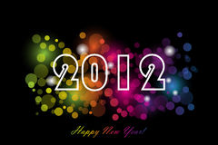 2012. Happy new year background Royalty Free Stock Image