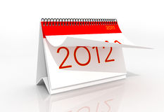 2012. Digital ilutration of a New year2012 Royalty Free Illustration