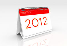 2012. Digital ilutration of a New year2012 Vector Illustration