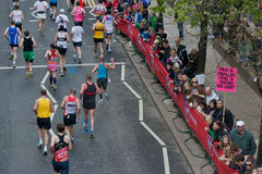2012年伦敦马拉松贞女 免版税库存图片