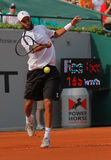 2012年布雷克・詹姆斯网球 库存图片