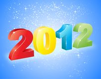 2012 3D vector Stock Photos