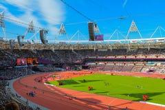 体育场伦敦2012年残奥会 图库摄影