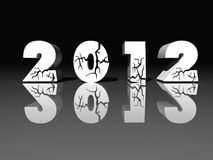 2012 años stock de ilustración