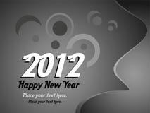 2012 Años Nuevos Foto de archivo libre de regalías