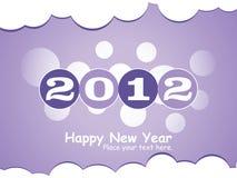2012 Años Nuevos Fotografía de archivo libre de regalías