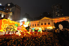 2012 Años Nuevos chinos en macau Imagen de archivo