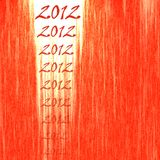 2012 Abstract Red Backgoround Royalty Free Stock Photo