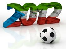 2012 African Cup of Nations. In Gabon and Equatorial Guinea Royalty Free Stock Photo