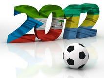 2012 Afrikaanse Kop Naties Royalty-vrije Stock Afbeelding
