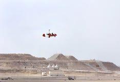 2012 airshow Bahrain gyrocopter zawody międzynarodowe Zdjęcie Royalty Free