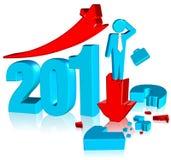 2012 łamanych map Obraz Stock