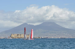 2012 America filiżanka Naples s obrazy royalty free