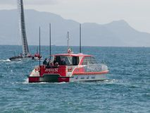 2012 americas cup naples -Italy Stock Image