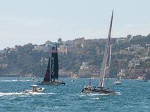 2012 americas cup naples -Italy Stock Images