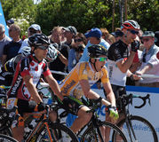 2012 Amgen Tour of California Starting Line Stock Photos