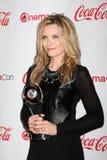 2012 ankommer talangen för utmärkelsecinemaconmichelle pfeiffer Royaltyfri Fotografi