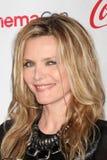 2012 ankommer talangen för utmärkelsecinemaconmichelle pfeiffer Royaltyfri Bild