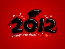 2012 anni del disegno del drago. Immagini Stock Libere da Diritti