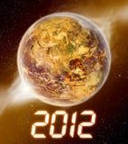 2012 anni dell'apocalisse illustrazione vettoriale