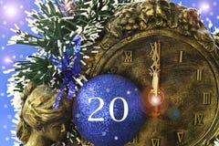 2012 anos Fotografia de Stock Royalty Free