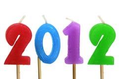 2012 anos novos Foto de Stock Royalty Free