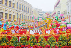 2012 anos novos chineses em macau Foto de Stock