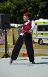 2012 ashera buskers festiwal treleaven świat Obrazy Royalty Free
