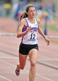 2012 athlétisme - obstacles Photo stock