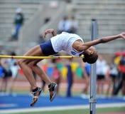 2012 atletica leggera - alto salto delle signore fotografia stock libera da diritti