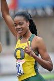 2012 atletica leggera - vincitore dell'Oregon Immagini Stock