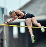 2012 atletica leggera - volta delle signore palo Fotografia Stock Libera da Diritti