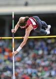 2012 atletica leggera - volta delle signore palo Immagine Stock Libera da Diritti