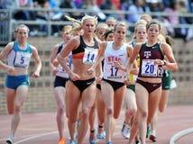 2012 atletismo - bloco dos corredores das senhoras Imagem de Stock Royalty Free