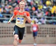 2012 atletismo - corredor alemão Imagem de Stock