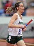 2012 atletismo - corredor de Loyola Fotos de Stock Royalty Free