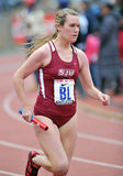 2012 atletismo - corredor del St Joe Imagenes de archivo