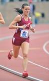 2012 atletismo - corredor del St Joe Imagen de archivo