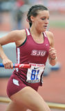 2012 atletismo - corredor del St Joe Foto de archivo libre de regalías