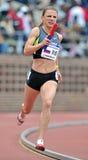 2012 atletismo - corredor do russo Fotos de Stock