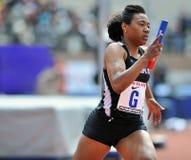 2012 atletismo - corredor do templo Imagens de Stock