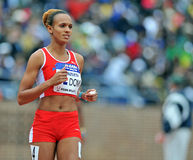 2012 atletismo - corredor dominiquense Imagens de Stock