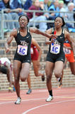 2012 atletismo - relé das senhoras 4x100 Fotos de Stock